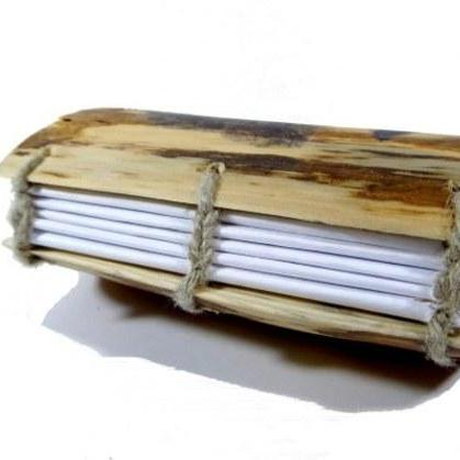 Wedding Guest Book - Real Wooden Al..
